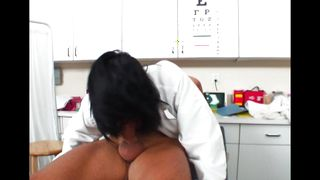 Slender Ricki Raxxx with round natural tits is getting banged the way she did not expect