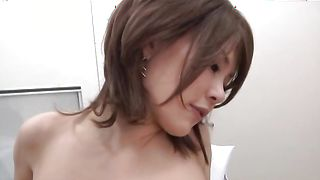 Glamor sweetheart with big tits takes a joy ride on guy's hard lever