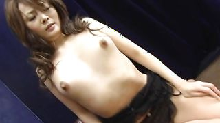 Busty Karen Miyajima is magical and loves to bang
