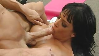 Beautiful Tory Lane with huge tits doesn't care who's hard dink she's riding on