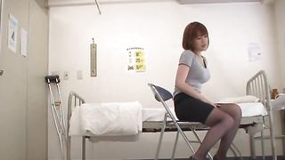 Racy busty gal Riko Honda is turning stud's dreams into reality every time they meet up
