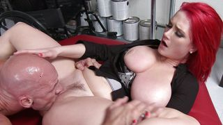 Awesome darling Siri with huge natural tits got a romanic caress ended up fucked the way she always wanted
