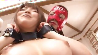 Inviting busty hottie Shiori Kamisaki fucks like a true pro