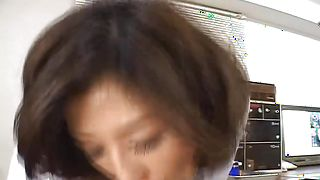 Hot-tempered busty Romihi Nakamura and stud are having sex all day long because it is her birthday