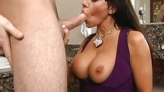 Playmate is fucking his best naughty Victoria Valentina with big tits like never before and enjoying it a lot