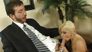 Charming latin blonde Gina Lynn with round tits loves to get plowed hard and long
