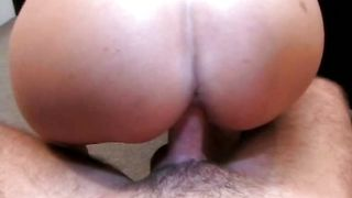 Vigorous brunette sweetie Crystal Cruz with great natural tits struggles to swallow a hard chopper
