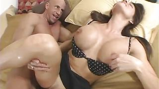 Horny gf Kristine Madison with great tits got fucked and liked it a lot