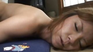 Exquisite busty floosy Suimire Matsu loves watching as hunk fuck her hard