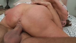 Magical busty cutie Veronica Avluv model gets her tight pink cave roughly nailed