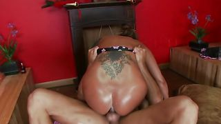 Prodigious busty asian floozy Ava Devine loves pole