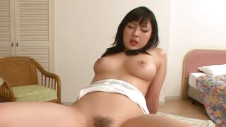 Striking floozy Megumi Haruka with firm tits is might be easily seduced
