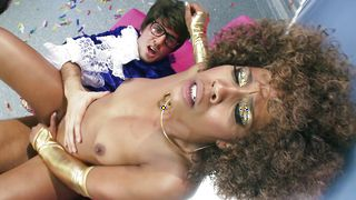 Luxurious Misty Stone with round natural tits has a delicious taco that deserves to be eaten
