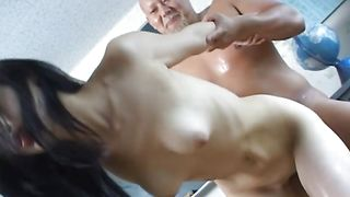 Tempting busty girl Aya Seto bangs with horny male