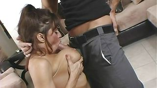 Vigorous busty Devon Michaels was eager to get fucked hard until she cums