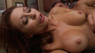 Elegant busty Monique Alexander is thrilled to be doggy styled by a big wang