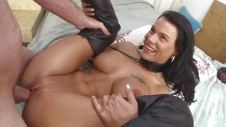 Mesmerizing Peta Jensen with large tits had her first sex just a little while ago