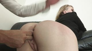 Lovely busty Kagney Linn Karter is doing it with a lad and enjoying it a lot