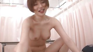 Wanton busty girlie Yuria Satomi is always ready for some interesting pounding