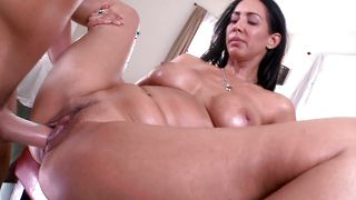 Ravishing busty brunette honey Isis Love who loves getting drilled dearly