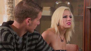 Pal enjoys a ravishing busty blonde woman Lylith Lavey in hardcore mode