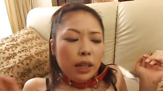 Worshipped Yukari Iida with curvy tits gets a vag diving from pussy tester