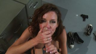 Fascinating busty Veronica Avluv is getting fucked very hard while lying