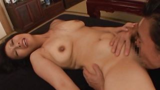 Busty diva is startling and reaches a massive orgasm