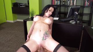 After a blowjob a topnotch busty maiden Jayden Jaymes is getting her shaved vagina licked