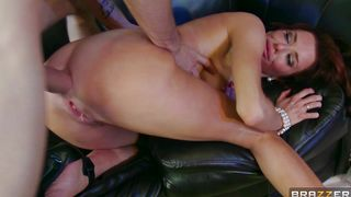 Prurient bimbo Veronica Avluv with huge tits rides a cock like true pro