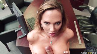 Inviting busty Destiny Dixon asked a lover she just met to fuck her