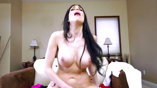 Sultry Jaclyn Taylor with huge tits is in need of hard dinky slamming