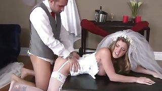Male fingers and drills loving snatchs of inviting blonde Kayla Paige with large tits