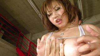 Lad fingers and drills loving cunnys of lusty Neiro Suzuka with impressive tits