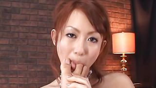 Curvaceous Reon Otowa with massive tits is a playful slut that likes to get nasty
