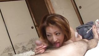 Alluring busty Reiko Kagami is a playful slut that likes to get nasty