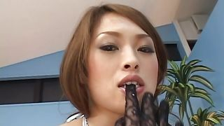 Passionate busty maiden Hikaru Hozuki wants to be fucked by a dude