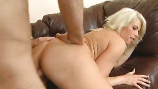 Man plows sensual busty Brooke Haven wildly