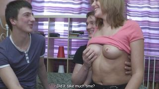 Magnificent beauty Kirsten with great natural tits soaking wet poontang is ready to be plowed