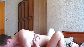 Instead of doing her job lusty Inga with big natural tits is getting fucked