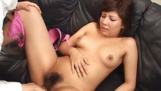 Curvaceous busty Christel Takizawa wants lad's dong deep inside her cherry