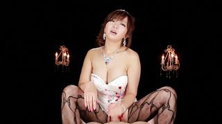 Lady Kaori with big tits is exquisite and ready for some intense banging