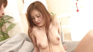 Sweet busty Suzuka Ishikawa took off her clothes and started riding bf's big meat
