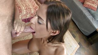 Boyfriend founded a lusty gal Black Angelika with curvy tits and smashed her hard