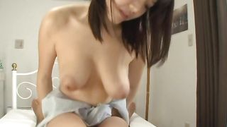 Swingeing beauty Mao Hamasaki with round tits loves to take it deep