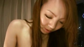 Gorgeous girlie Hitomi Tanaka with firm tits getting her cuchy fucked hard