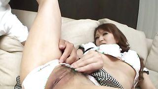 Enticing cutie Anna Mizukawa with huge tits likes to have sex everywhere
