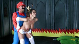 Startling Brooklyn Chase with big tits got fucked the way she always wanted until she came
