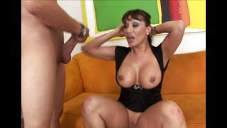 Amazing japanese Ava Devine with huge tits got fucked in the wet fanny by guy
