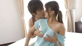 Ravishing floosy Nao Kamiki with round tits is always ready for some stunning and wild banging